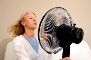 Nočno potenje v menopavzi